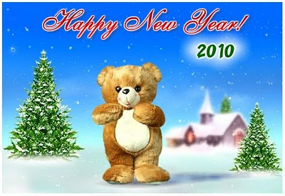 Desktop Wallpaper Happy  Year on New Year Wallpapers  New Year Teddy Bear Wallpapers  Happy New Year