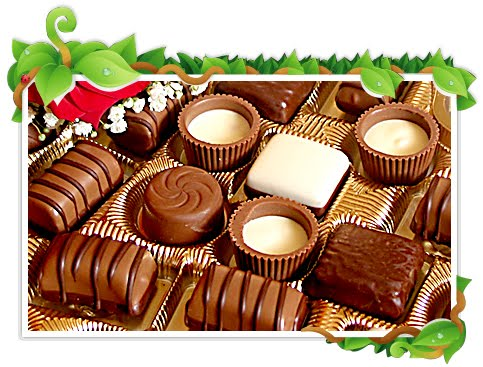 Explore these new year chocolates wallpaper to give it to your loved ones