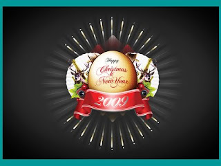 New Year Premium Widescreen Wallpaper