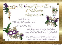 New Year Eve Celebration Invitations