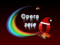 Happy New Year 2010 Opera Wallpaper
