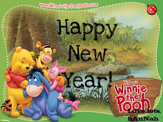 Winnie The Pooh New Year Wallpapers