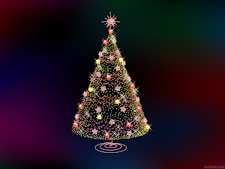animated tree for new year