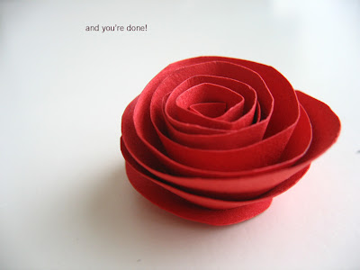 Papercraft World: How to make a paper flower Paper Models Free