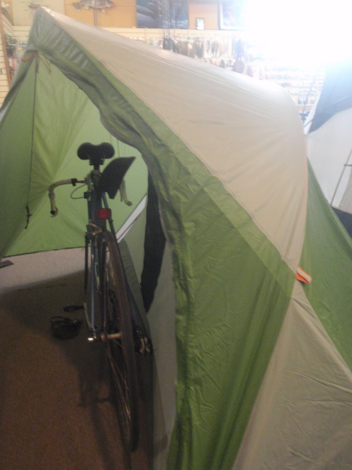 The Mountain Hardware Ghisallo 1 is our newest addition to our tent lineup. It is a tent designed for bike tours. Its a one person freestanding two pole ... & JUST IN: Lightweight Bicycle Touring Tent   JL Waters and Company