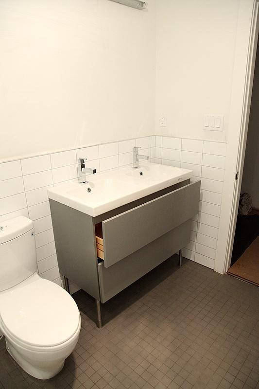 Ikea Hack Kitchen Island With Seating ~ 8FOOTSIX Plumbing complete!