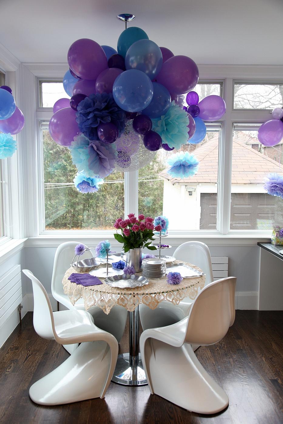 Оформление комнаты на день рождения своими руками фото
