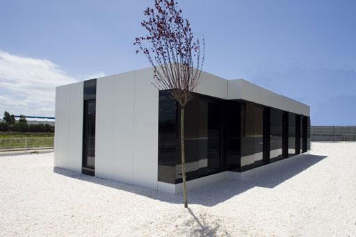 Viviendas modulares casa minimalista for Arquitectura modular