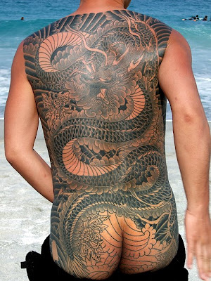 Photographer Marcus Mok hails from Singapore tattoo at niijima beach