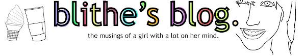 Blithe's Blog