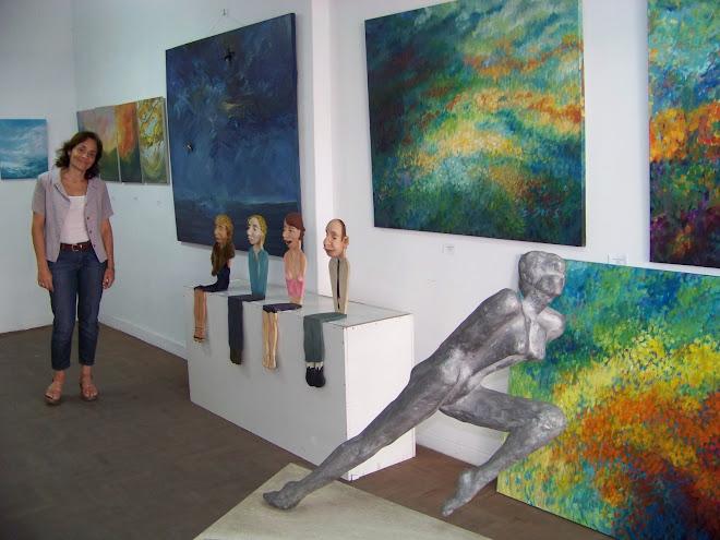 Muestra Las 4 estaciones - Curaduría Laura Garimberti