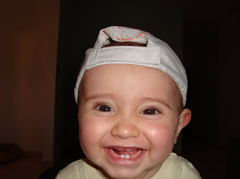 Matheus com 8 meses