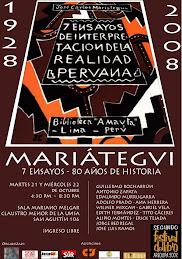 MARIÁTEGUI: 7 ENSAYOS, 80 AÑOS DE HISTORIA