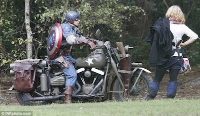 Captain America Movie Images Leaked