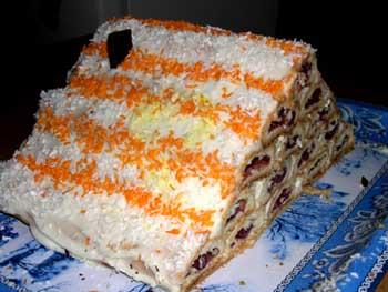 Замечательный торт на Новый год!