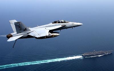 F 18 Super Hornet Wallpaper Free Widescreen Wallpapers: F18 Super Hornet Over Carrier 1680 x 1050 ...