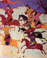 Arqueros mongoles