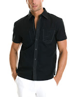 Armani Exchange Contrast Stiching Shirt