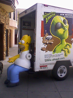 life size homer simpson