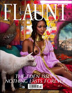 naomi campbell nipple flaunt magazine