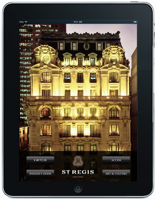 st regis new york e-bulter