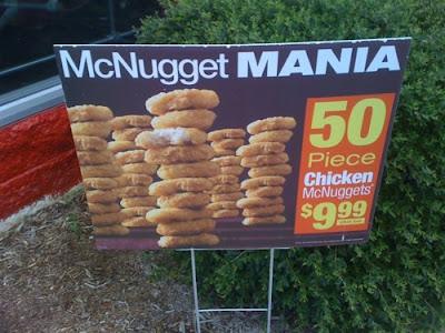50 piece chicken mcnuggets