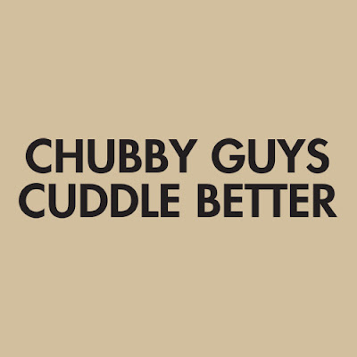 fat guys cuddle better