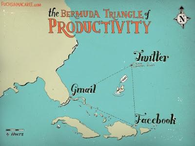 bermuda triangle twitter facebook gmail