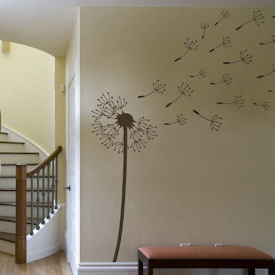 Wall Decal ! It's over 5′ tall and sells for $60! How cool is that