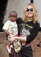 Madonna y David Banda