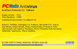 PC Media AntiVirus ( PCMAV ) 2.2 Valkyrie