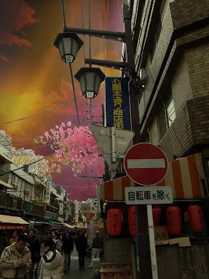 Asakusa yatai street