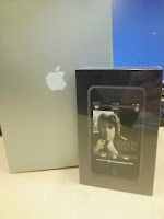 会社の忘年会で社長サンタからプレゼントされたApple iPod touchの巻。