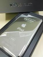 クリスマスプレゼントは社名レーザー刻印ありのApple iPod touchの巻。