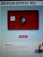 AMERICAN EXPRESS RED