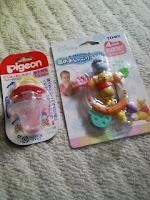 子供のおしゃぶりを買ってみたの巻。