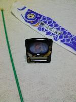 成約記念に貰ったオルゴールと鯉のぼりの巻。