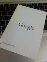 グーグル マップ ローカル ビジネス センターのPINナンバーが届いた。