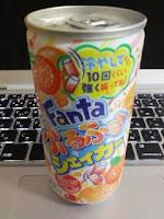 ファンタ ふるふる シェイカー オレンジ味を飲んだ感想。