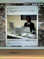 越谷市ポータルサイトに登録すると動画CMも撮影します。