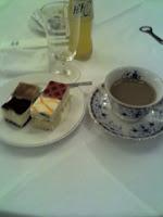 越谷市国際交流協会の交流会で食後のデザート。