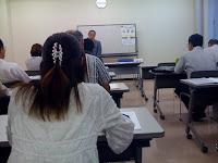 越谷市産業雇用支援センターの会計支援セミナー(高浪正一)に出席。