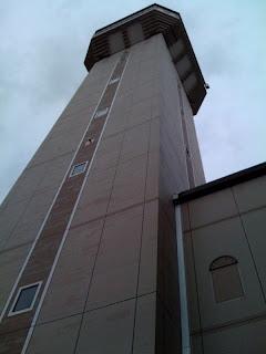 越谷市ゴミ処理場リユース煙突