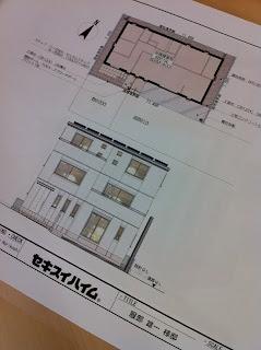 3階建ての二世帯住宅