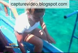 doga rutkay teknede bikinili
