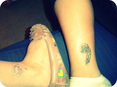 Gypsy Feet: Friendship tattoo's
