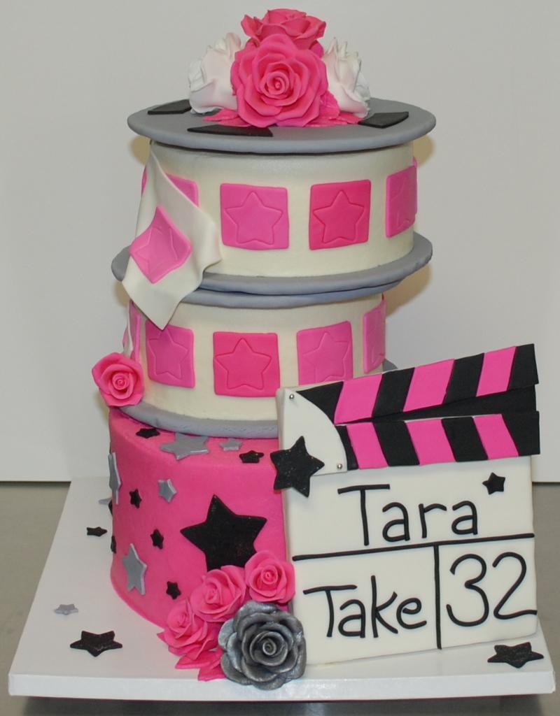 The Bakery Next Door Movie Themed Birthday Cake