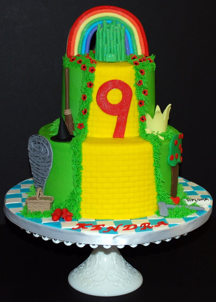 The Bakery Next Door: Wizard of Oz Birthday Cake