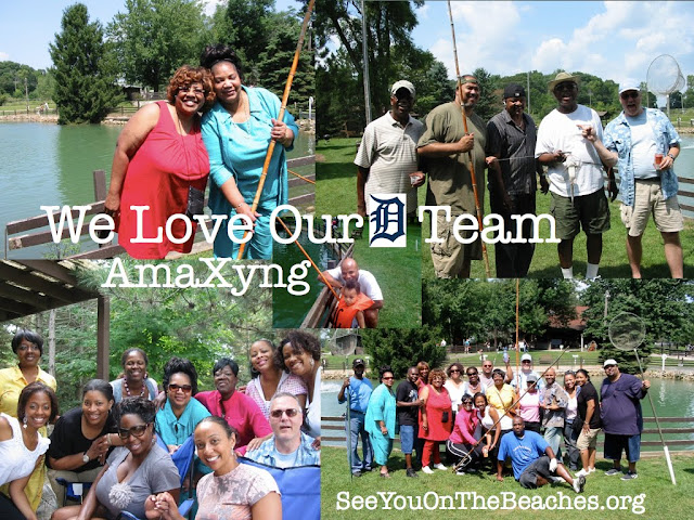 Team AmaXyng ~ The Team That Plays Together, Stays Together ~ Team Fishing Excursion ~