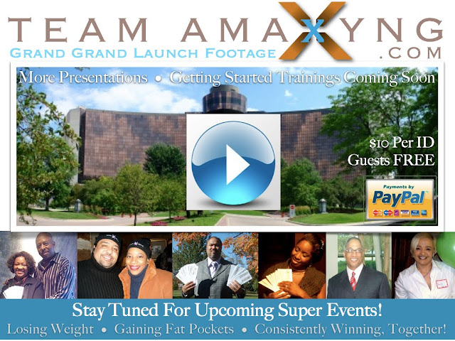 Team Amaxyng Grand Launch ~ Welcome To To Our Amaxyng New Family Members!